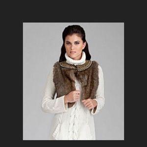 Gianni Bini faux fur vest